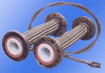 HF01-2耐压型带网套的四氟波纹管