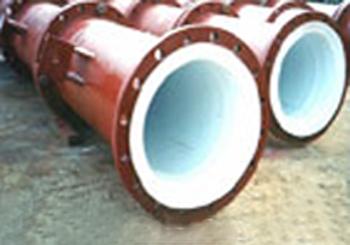 钢衬四氟反应塔(外型)